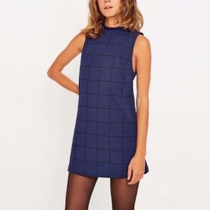 Urban Outfitters Sleeveless Grid Dress - Size S